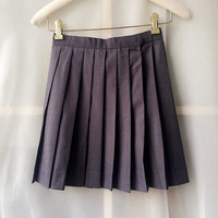 Women Pleated Skirt, Gray Pleated Short Skirts, Grils Mini Skirts, Gray Skirts, Go back to school, School Girl , Tennis Skirt