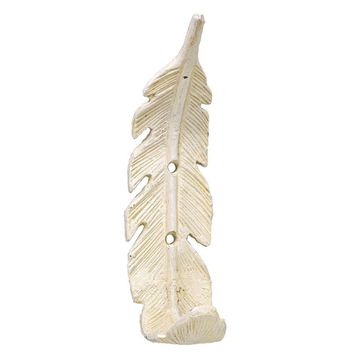 Founder Feather Wall Hook ~ White