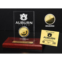 Auburn University 24KT Gold Coin Etched Acrylic