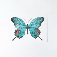 Butterfly No.4 - postcard