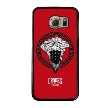 CROOK AND CASTLES BANDANA RED Samsung Galaxy S6 Case