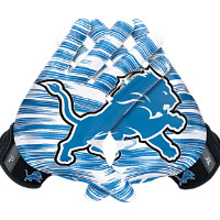 Nike Vapor Jet 3.0 On-Field (NFL Lions) Men's Football Gloves