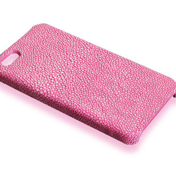 iPhone 5S case - pink stingray