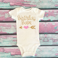 Gold Glitter Baby Onesuit, Birthday, First Birthday Onesuit, Second Birthday, 1st Birthday Outfit,Cake Smash