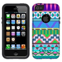 OtterBox Commuter Apple iPhone 5 & iPhone 5S Case - Aztec Pink Blue Turquoise OtterBox Case