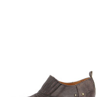 Matisse Roscoe Charcoal Leather Western Ankle Boots