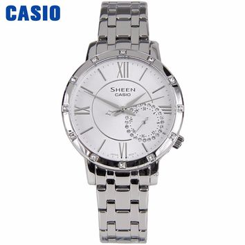 Casio watch Fashion pointer quartz waterproof ladies watch SHE-3046DP-7A SHE-3046GLP-7A SHE-3046GLP-7B SHE-3046SGP-7A