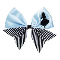 Disney Alice In Wonderland Silhouette Cheer Hair Bow