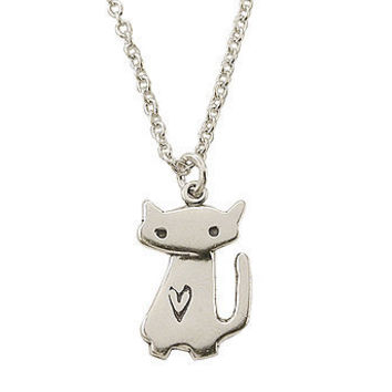 Little Charm Space Cat Necklace