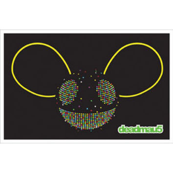 Deadmau5 Blacklight Poster