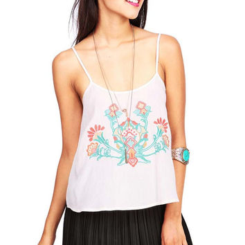 Ivy Embroidery Cami