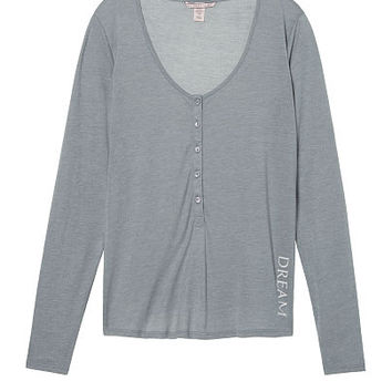 Long Sleeve Sleep Henley - Victoria's Secret
