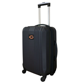 Chicago Bears  21'' Hardcase two-tone Luggage Carry-on Spinner-Black