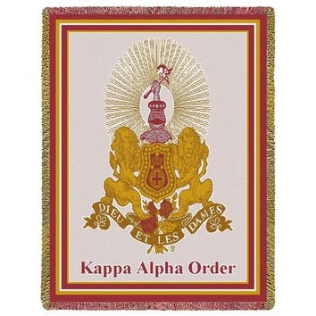 Kappa Alpha Order Throw Blanket
