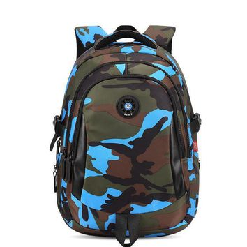 Genuine SUNNY Nylon camouflage schoolbags Waterproof 20L backpack for babys Soft-back or hand-held student school bags