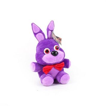 14 CM Cute Anime Five Night At Freddy  World Freddy Bear Foxy Bonnie Plush Toys Stuffed Freddy Toys For Children Gifts