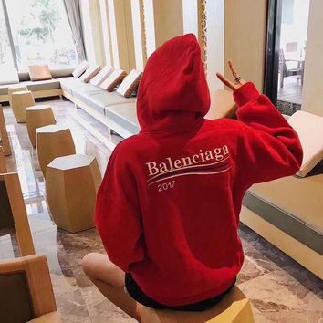ONETOW balenciaga fashion logo hooded sport top sweater sweatshirt hoodie 6