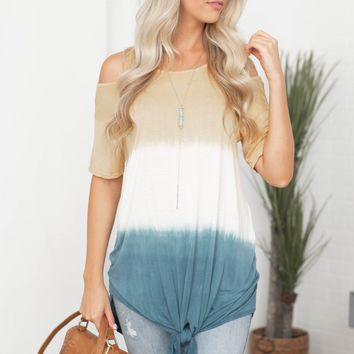 Cold Shoulder Umbrae Tunic