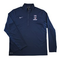 Nike USA 1/4 Zip Lacrosse Hoody | Lacrosse Unlimited