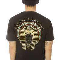 Crooks & Castles Tee Pharoah Black