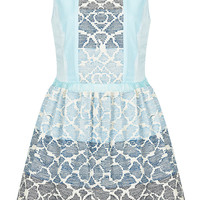 **LIMITED EDITION Embroidered Skater Dress - New In This Week - New In - Topshop