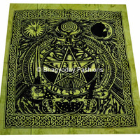 Dragon Tapestry - Hippie Hippy Wall Hanging Indian Throw Bedspread Queen Bed Decor Sheet Ethnic Decorative Art