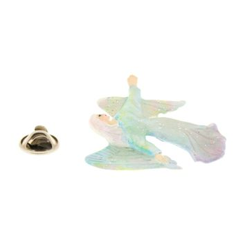 Angel Pin ~ Hand Painted ~ Lapel Pin
