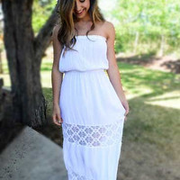 Flower Child Dress - White