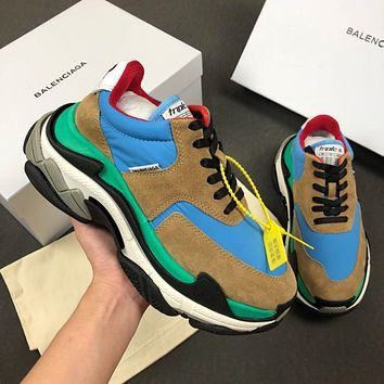 Balenciaga Triple-S Xia Gu jogging shoes-7