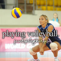 •                  Sport volleyball             justgirlythings  •