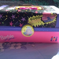 Vintage Barbie Caboodles Makeup Trunk case. New and Rare Pastel princess kawaii carry all from Niftyvintagegirl