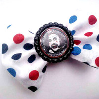 Psychobilly 4th of July Hair Bow Captain Spaulding/House of 1000 Corpses/Devils Rejects- Limited Edition