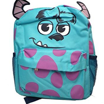 Small Size Sully Character Backpack - Monsters University Backpack
