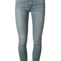 Victoria Beckham Denim distressed skinny jeans
