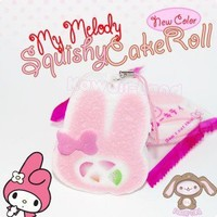 My Melody Squishy Cakeroll Phone Charm