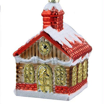 Christmas Ornament - Log Cabin