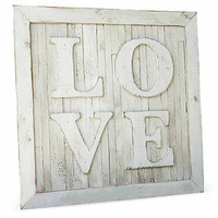 """One Kings Lane - Off the Wall - 33"""" Pallet LOVE Sign"""
