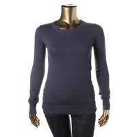 Abound Womens Juniors Knit Long Sleeves Pullover Sweater