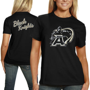 Army Black Knights Plus Sizes Encroachment T-Shirt - Black