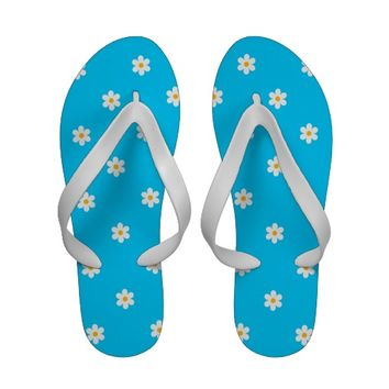 Cute Daisy Patterned Sandals from Zazzle.com