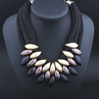 Gift Shiny Jewelry New Arrival Fashion Stylish Lace Necklace [6586265799]