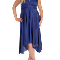 NEW: It's Magical Dress in Dark Royal - $62.95 : Indie, Retro, Party, Vintage, Plus Size, Convertible, Cocktail Dresses in Canada