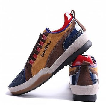 Dsquared2 Men's Suede Leather Casual Sneakers Shoes