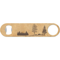 Rustic Landscape - Outdoors Bottle Opener
