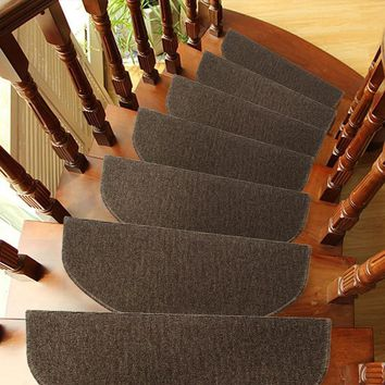 Autumn Fall welcome door mat doormat 65*24 Cm 1*Modern Household Wearable Carpet Stair Tread s Non-slip Step Rugs PVC Right Angled Bend Anti-visual Fatigue AT_76_7