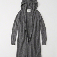 Womens Hooded Duster Cardigan | Womens Tops | Abercrombie.com