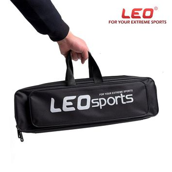 LEO Fishing Bag Wire Portable Bags Single Layer Fishing Rod Reel Travel Carry Case Fishing Pole Gear Tackle Storage Package
