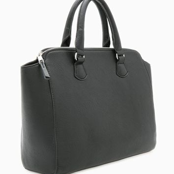 Rigid tote bag - MESSENGER BAGS - WOMAN | Stradivarius United Kingdom