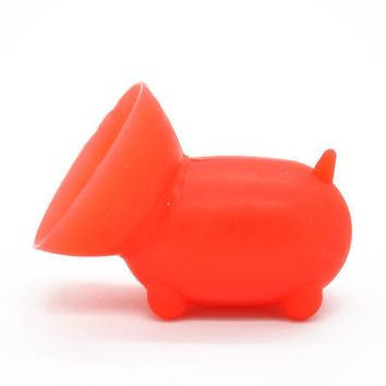 Cute Cartoon Mini Pig Phone Holder Stand For iPhone