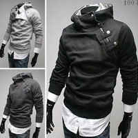 NEW Men's Clothing Slim Korean boutique hot HOODIE sweater Tops Jackets Coats